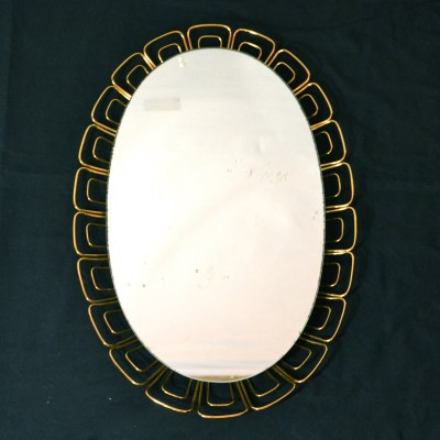 Miroir dentelle – grand modèle
