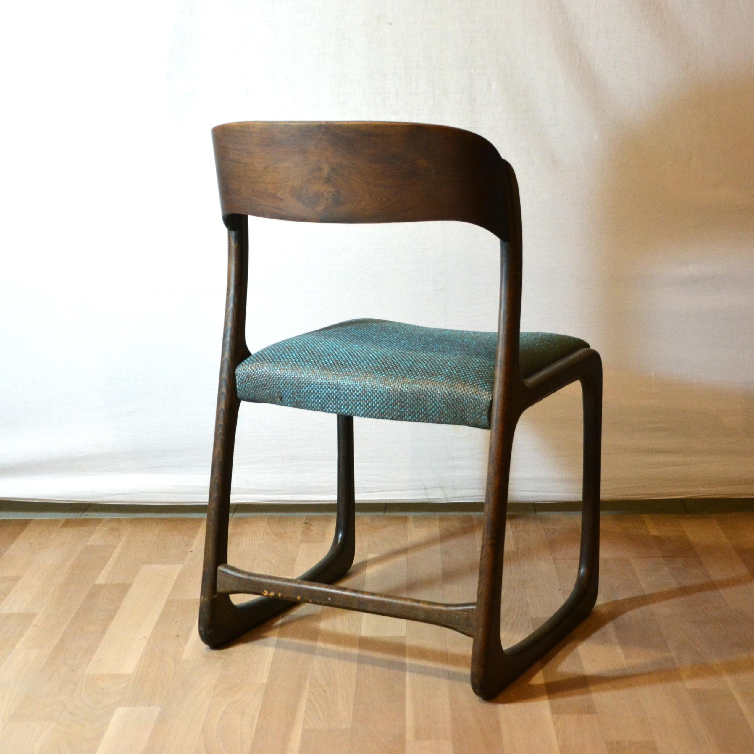 paires de chaises traineau baumann bindies. Black Bedroom Furniture Sets. Home Design Ideas