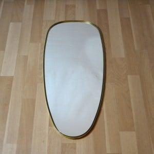 Miroir ovale des ann es 60 bindies - Miroir ovale sur pied ...