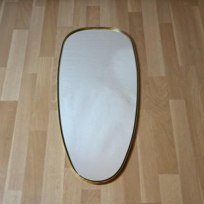 Miroir ovale des années 60