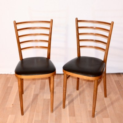 Chaise scandinave à barreaux