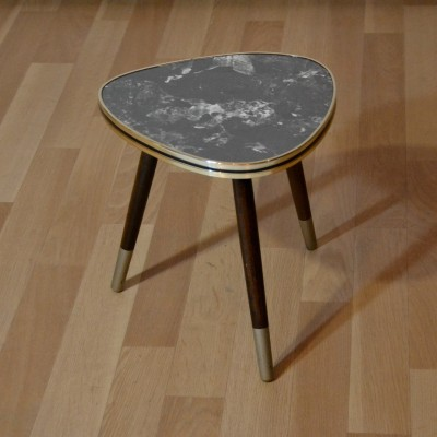 Mini table tripode grise