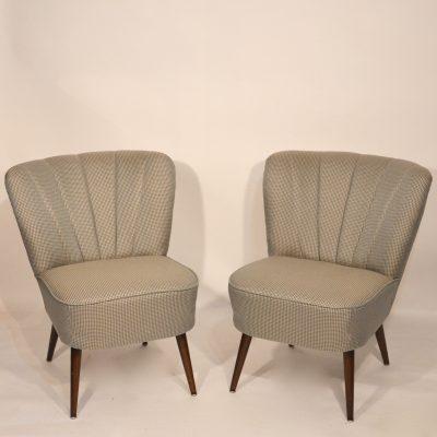 Paire de fauteuils cocktails