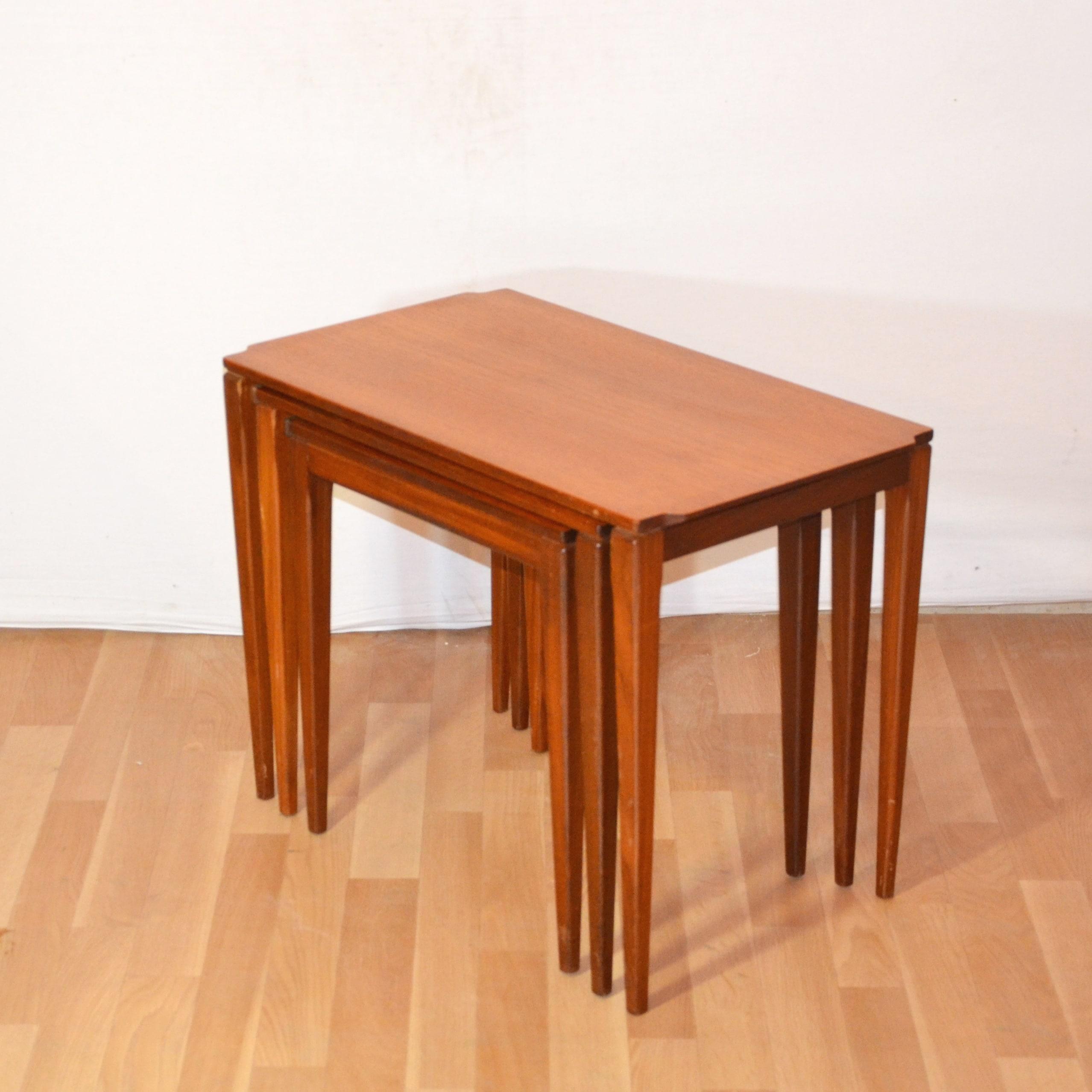 tables gigognes danoises bindies. Black Bedroom Furniture Sets. Home Design Ideas