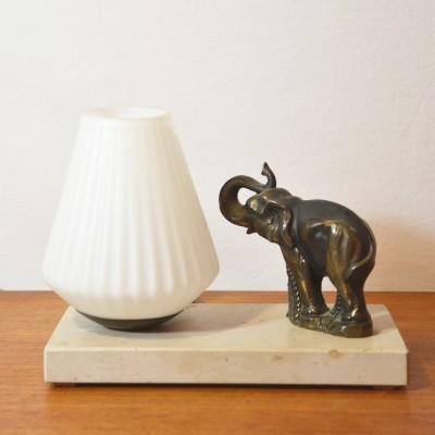 Lampe à poser éléphant