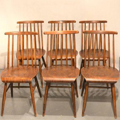 Série de 6 chaises Fanett de Tapiovaara