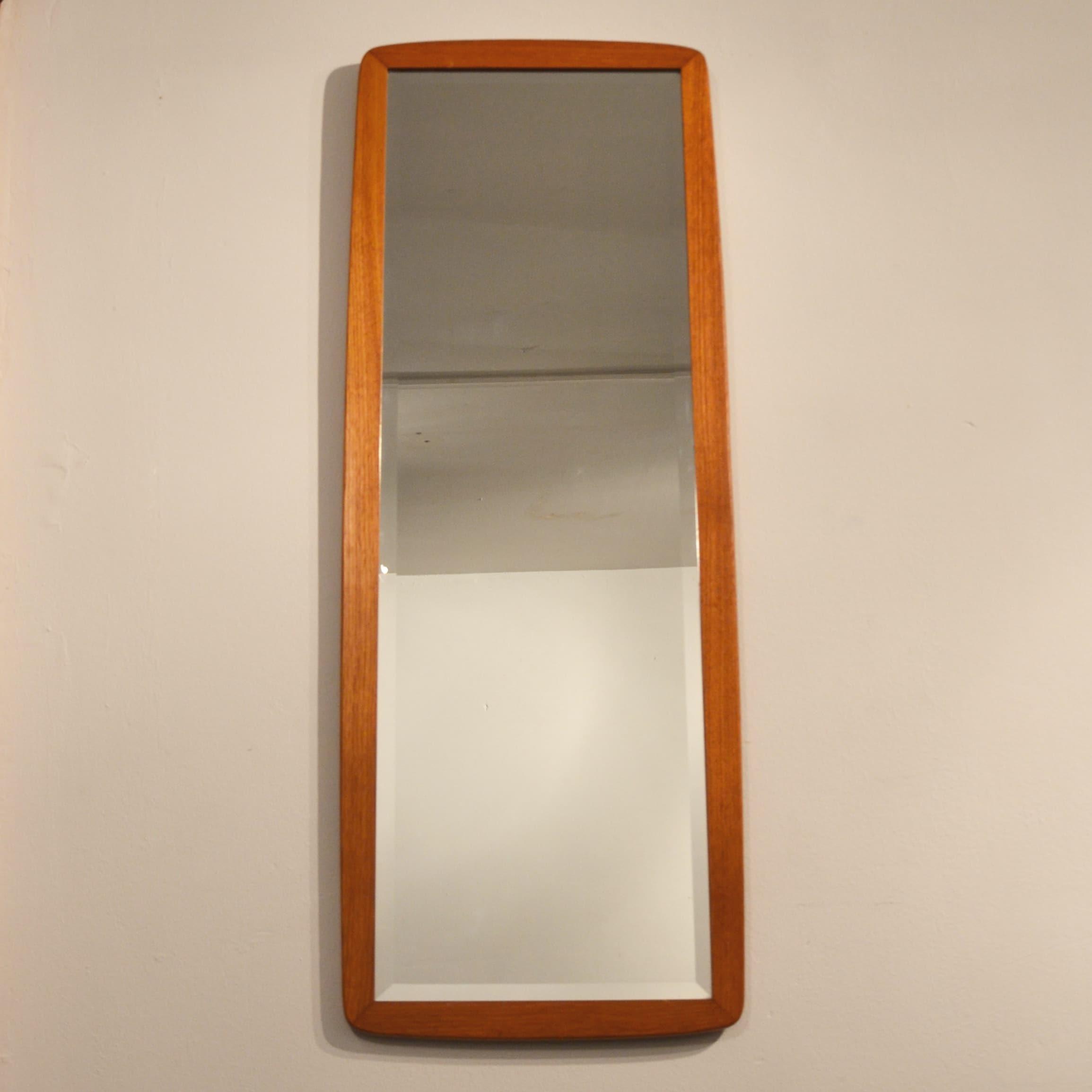 Grand miroir biseaut scandinave ann es 60 bindies for Grand miroir solde