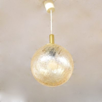 Suspension boule de verre