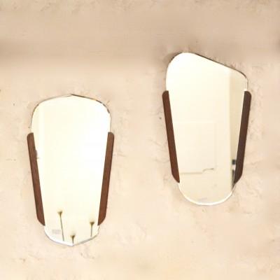 Miroirs scandinaves biseautés