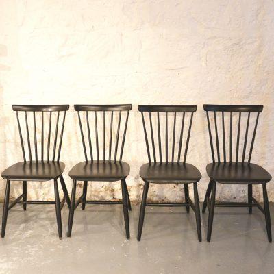 Série de 4 chaises Haga Fors