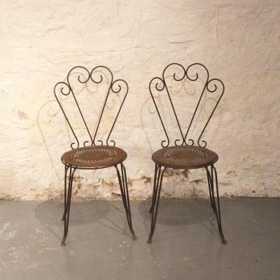 Chaises de jardin Montmartre de Fermob