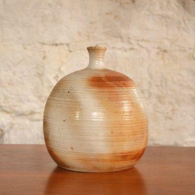Vase boule Grès du marais