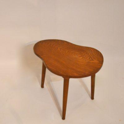 Petite table tripode Haricot