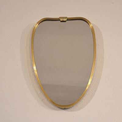 Mini miroir doré