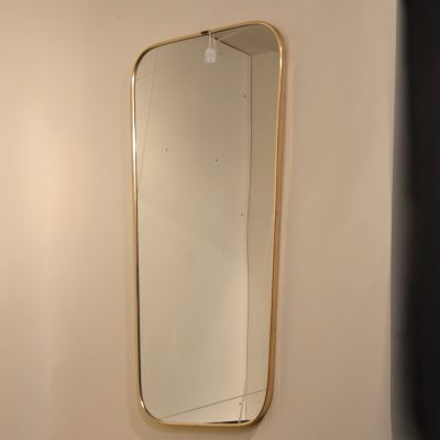 Miroir années 60 doré