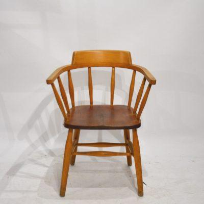 Chaise anglaise avec accoudoirs