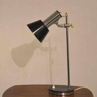 Lampe de bureau articulée noire