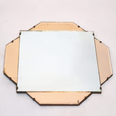 Miroir vénitien rose