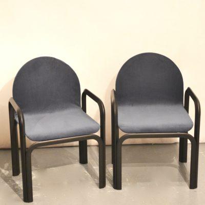 Paire de fauteuils Gae Aulenti