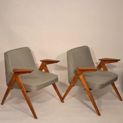 Paire de fauteuils Bunny