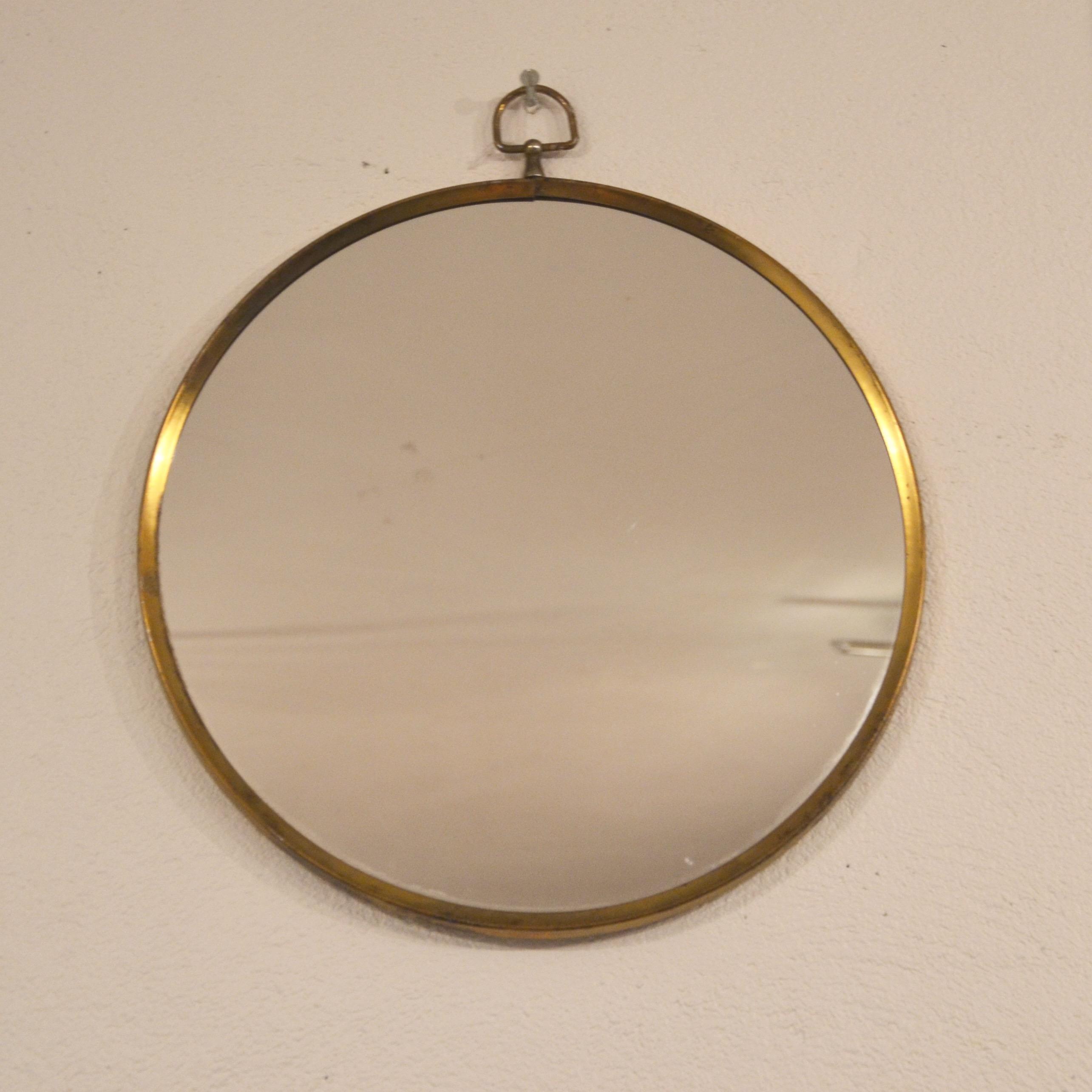Miroir Rond Laiton : miroir rond cercl de laiton bindiesbindies ~ Teatrodelosmanantiales.com Idées de Décoration