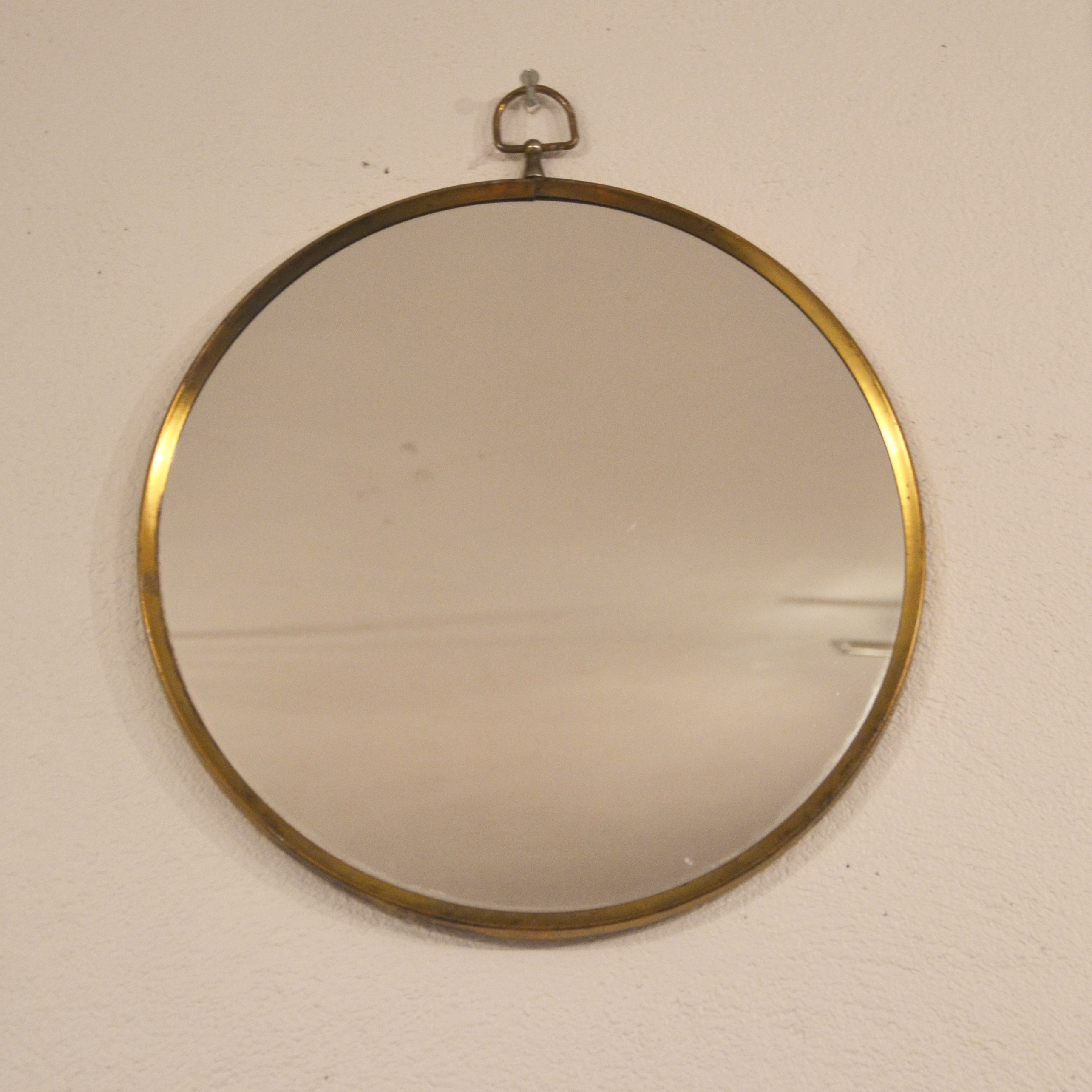 miroir rond cercl de laiton bindiesbindies. Black Bedroom Furniture Sets. Home Design Ideas
