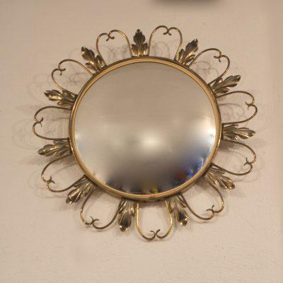 Miroir sorcière bombé