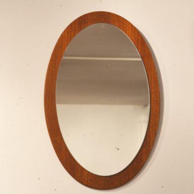Miroir scandinave ovale