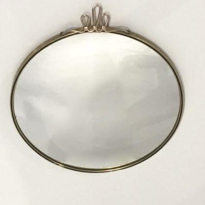 Miroir convexe doré