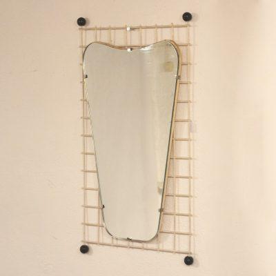 Miroir de forme libre années 60