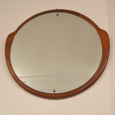Miroir scandinave de forme libre arrondie