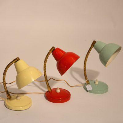 Petites lampes à poser années 50