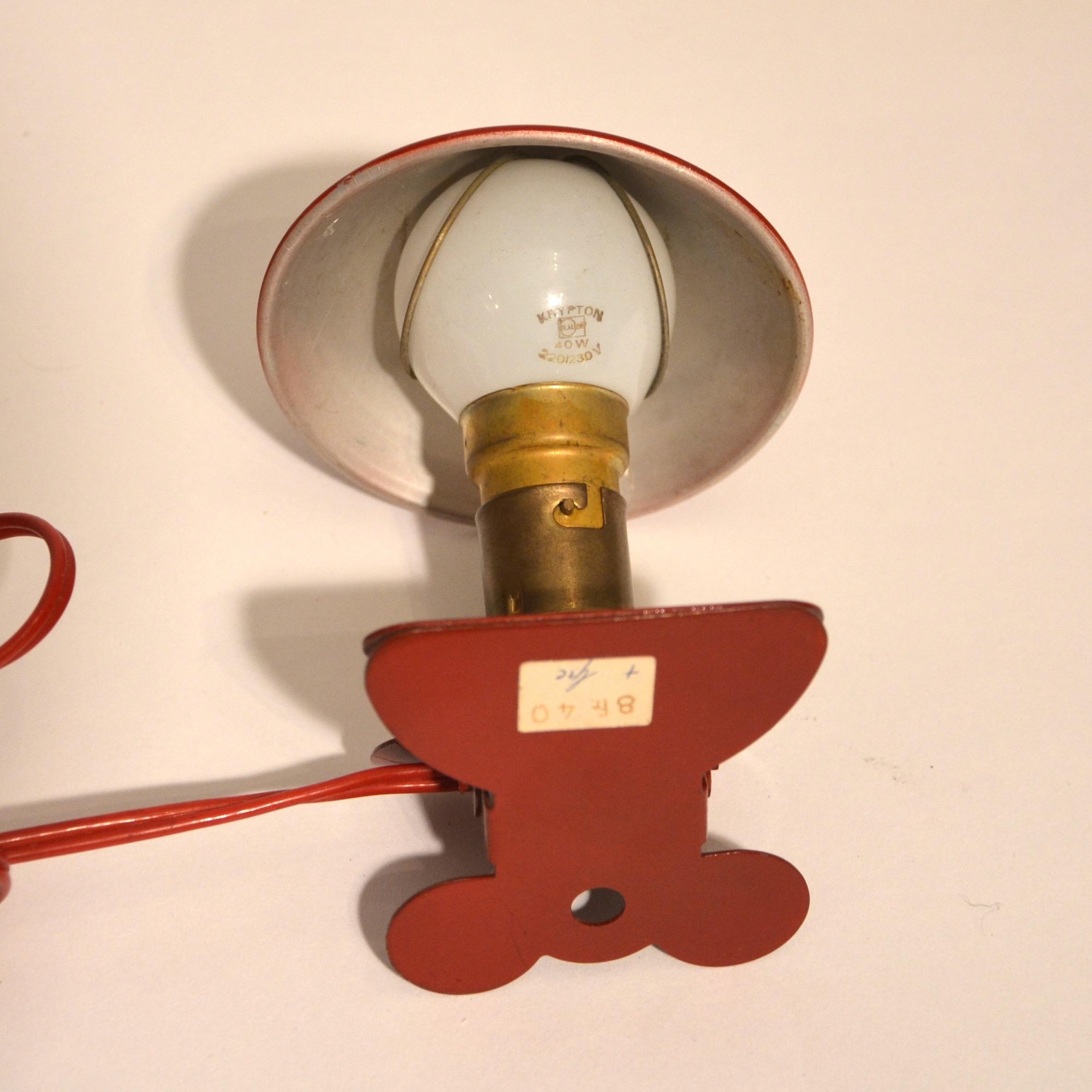 Rouge Mini Bindiesbindies Pince Mini Lampe Mo0vn8wn
