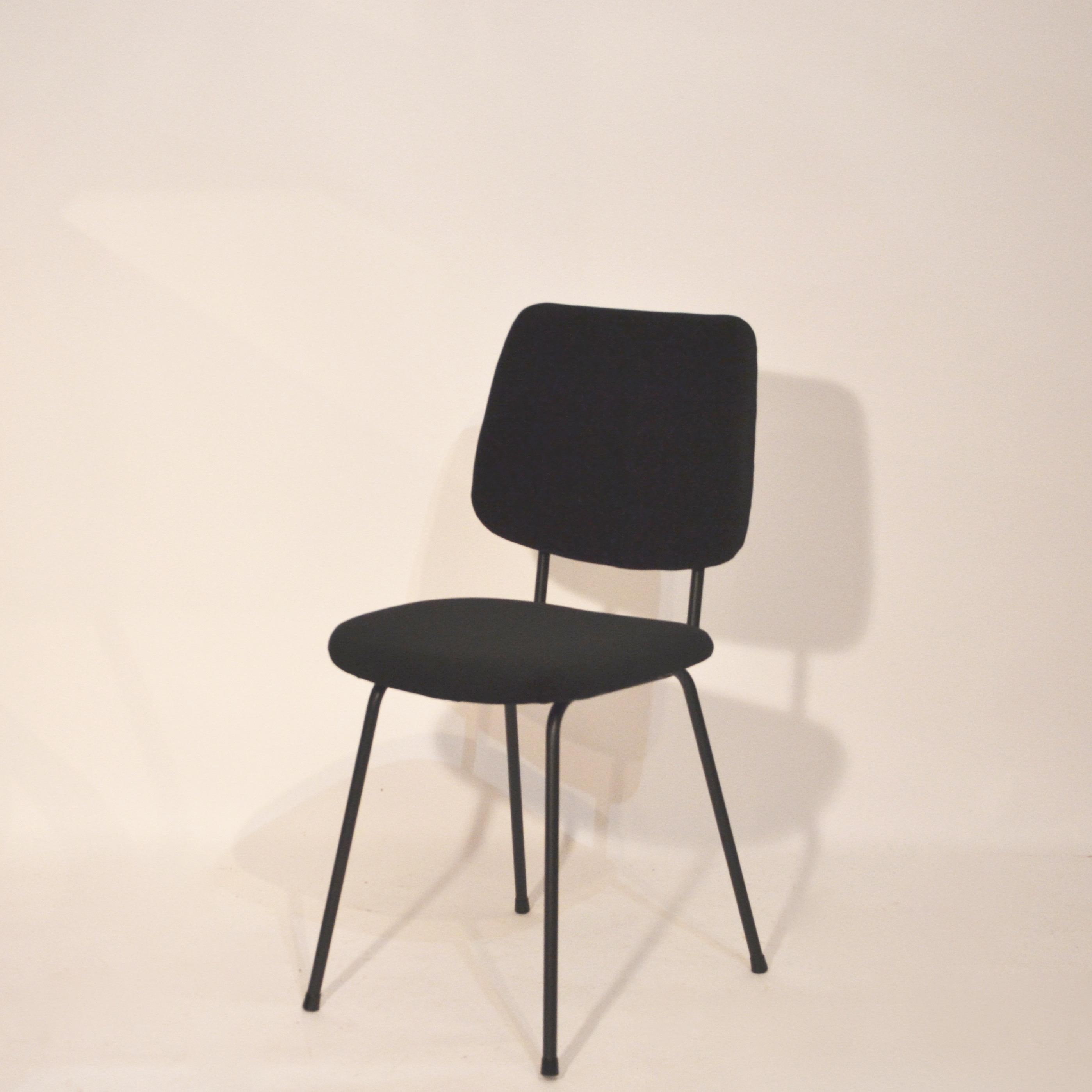 chaise en velours noir bindiesbindies. Black Bedroom Furniture Sets. Home Design Ideas