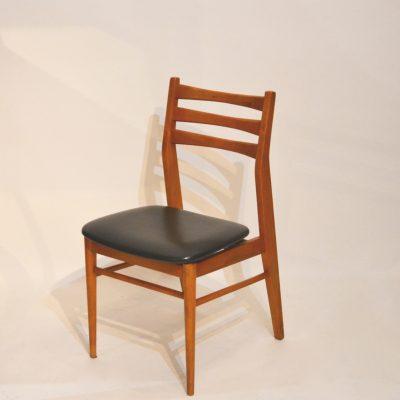 Série de 6 chaises style scandinave