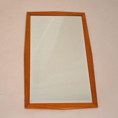 Miroir scandinave biseauté