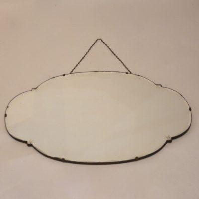 Grand miroir style Art déco «nuage»