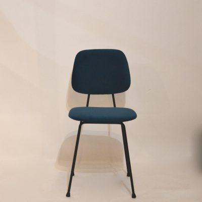 Chaise style Paulin retapissée