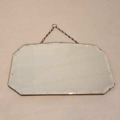 Miroir style Art déco biseauté