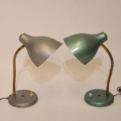 Lampes à poser années 60