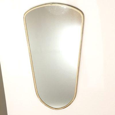 Miroir doré années 60