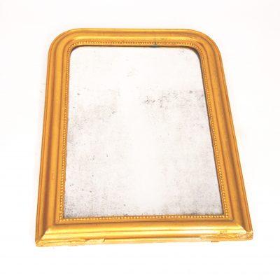 Miroir Louis Philippe mercurisé