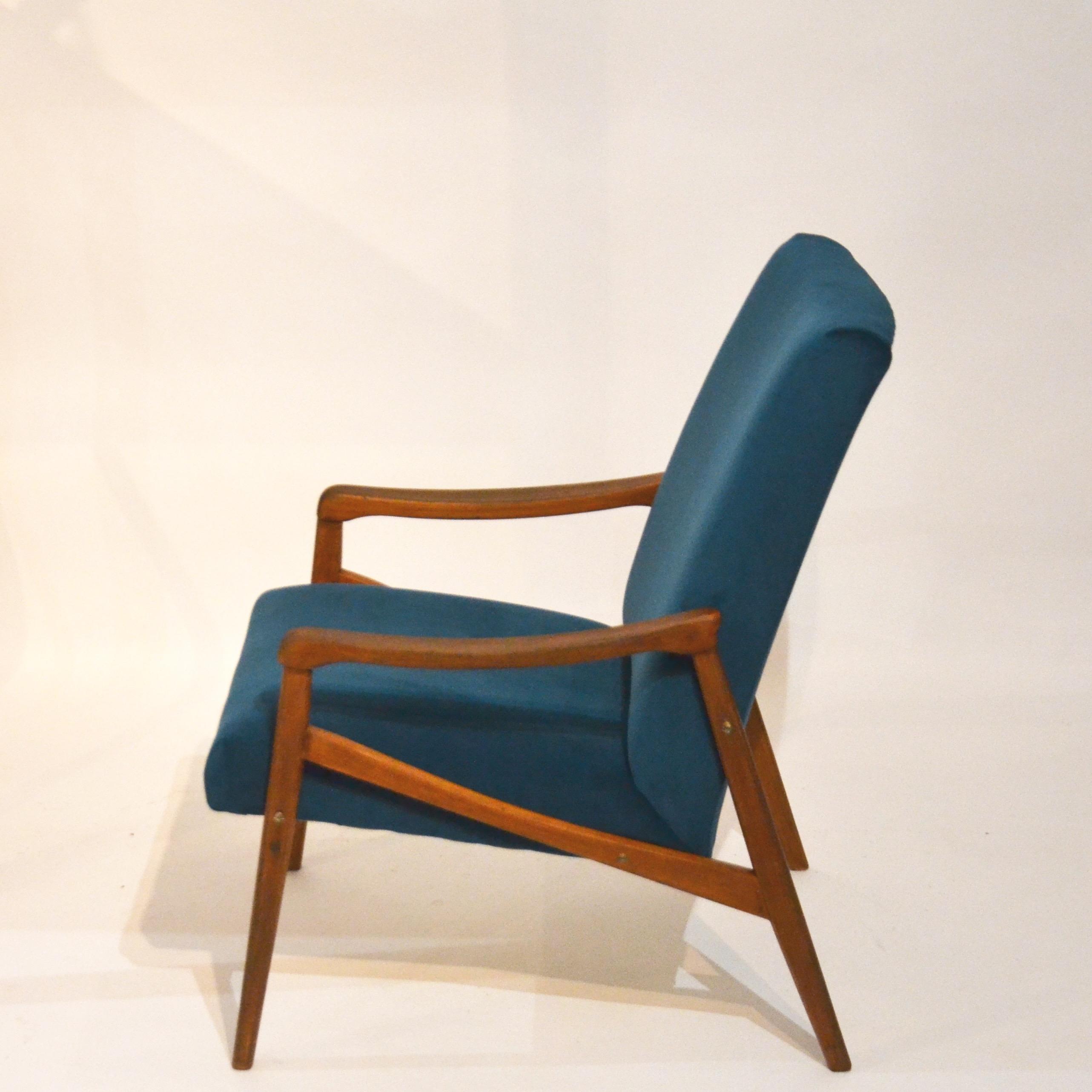 fauteuil velours bleu canard bindiesbindies. Black Bedroom Furniture Sets. Home Design Ideas
