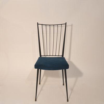 Chaise Colette Gueden bleue