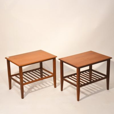 Duo de tables scandinaves