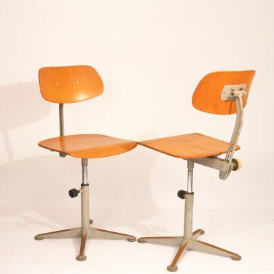 Chaises d'atelier Friso Kramer 1963