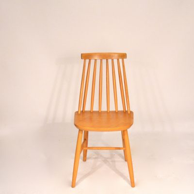 Chaises scandinaves bois blond