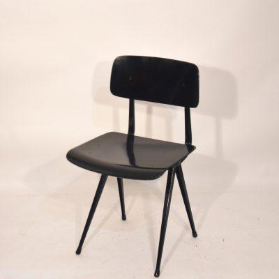 Chaise Friso Kramer noire
