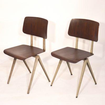 Paire de chaises Galvanitas années 60