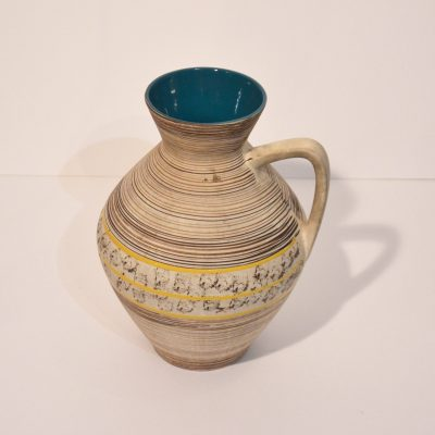 Vase West Germany rayé